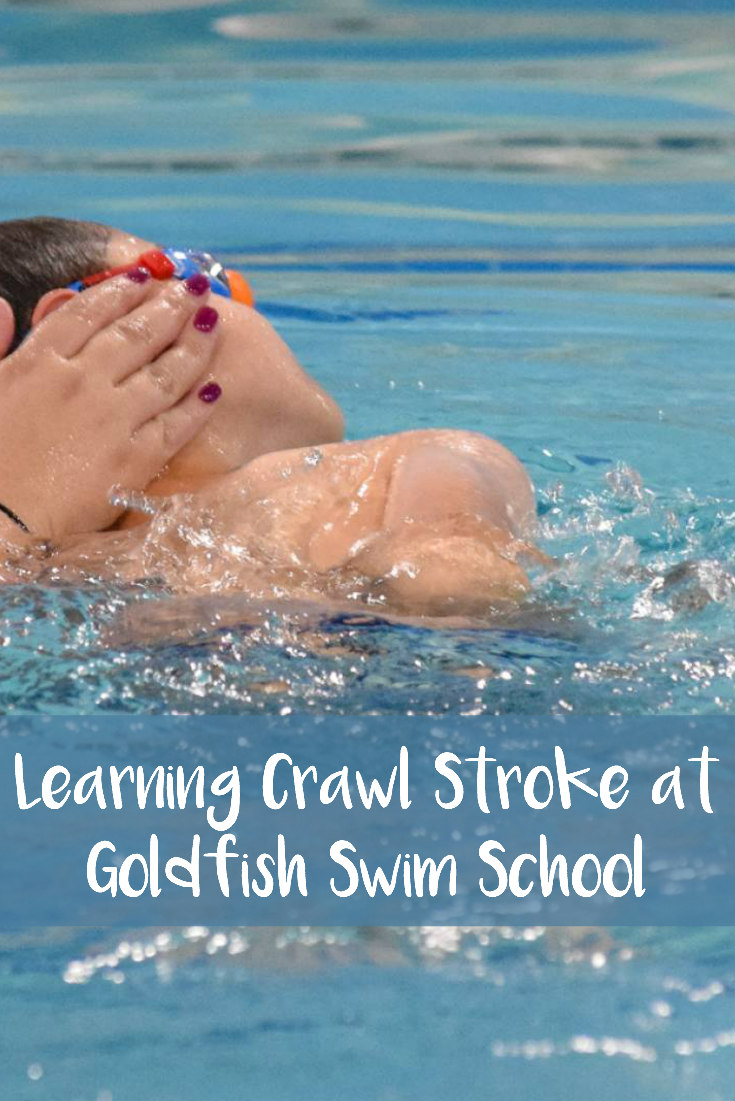 Learning Crawl Stroke at Goldfish Swim School