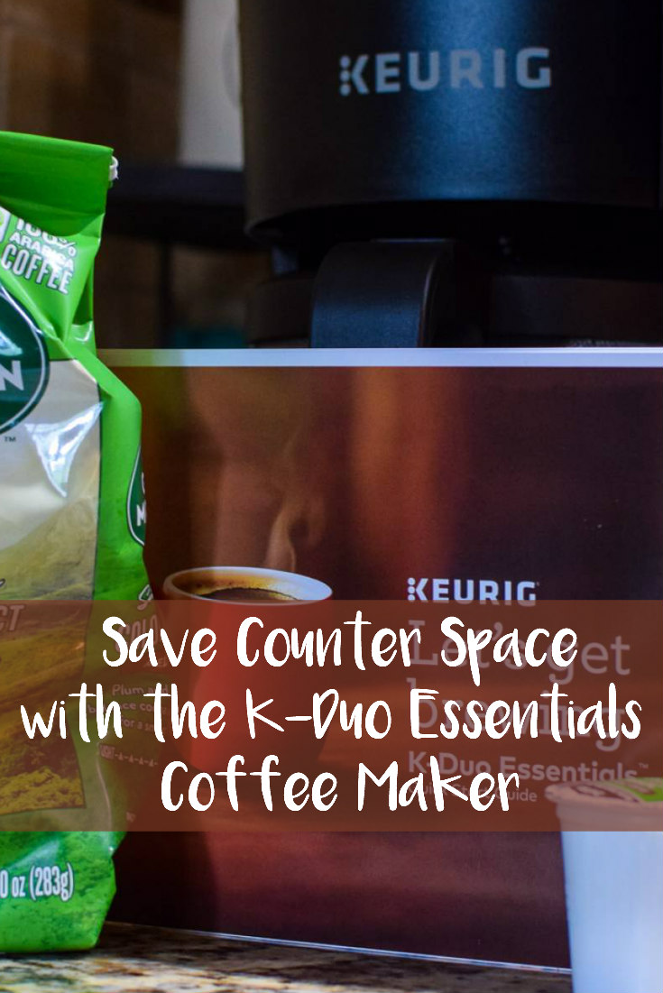 Save Counter Space with the K-Duo Essentials Coffee Maker