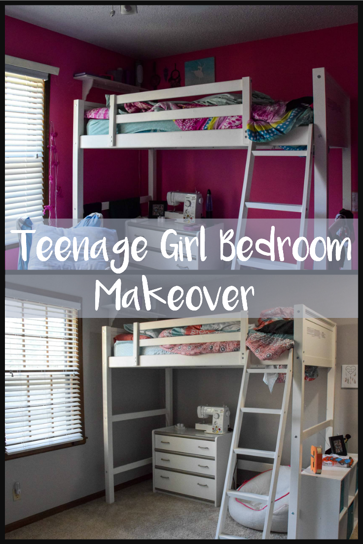 Teenage Girl Bedroom Makeover - Not In Jersey