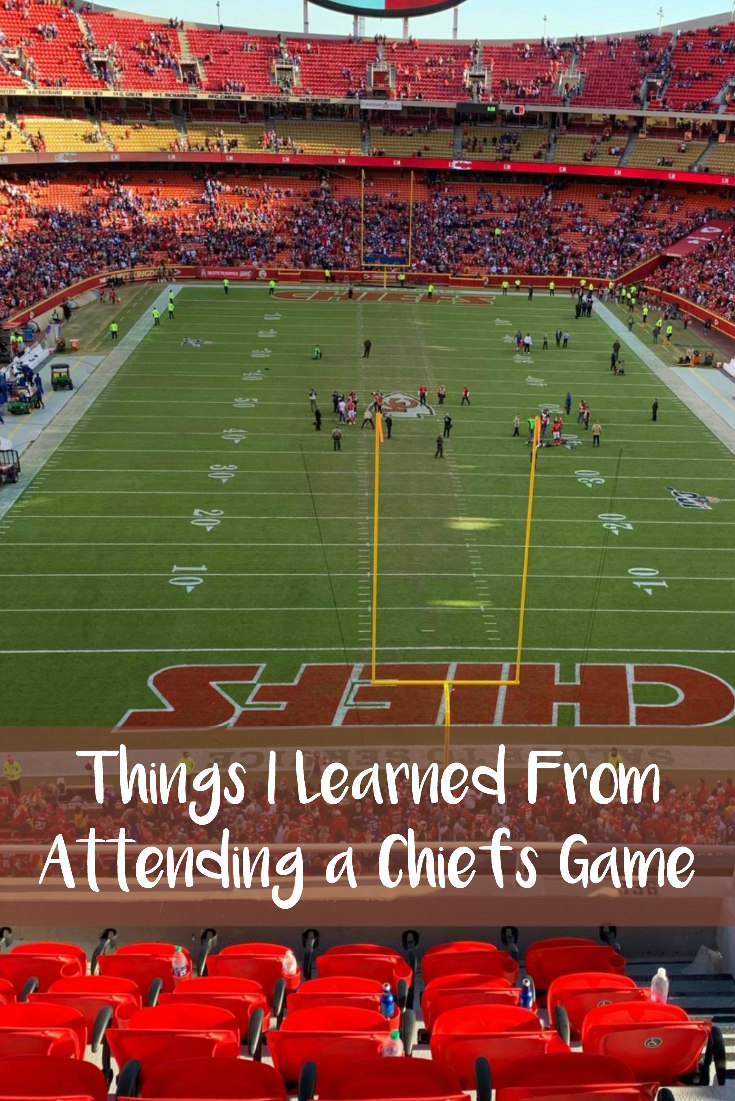 Things I Learned From Attending a Chiefs Game