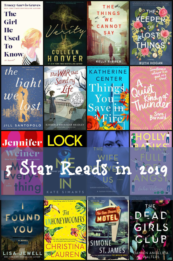 5 Star Reads in 2019