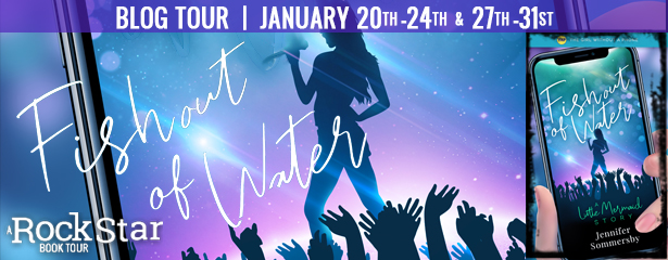Fish Out Of Water Blog Tour – Review and Giveaway