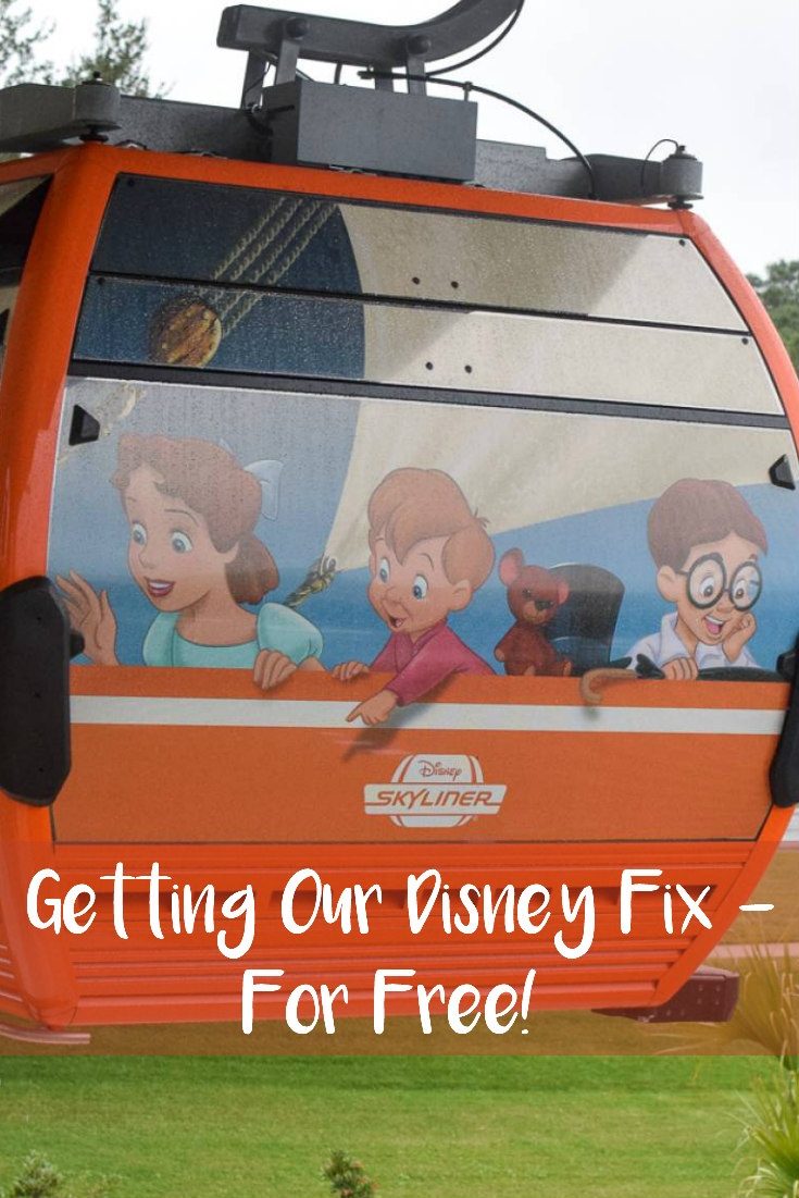 Getting Our Disney Fix – For Free!