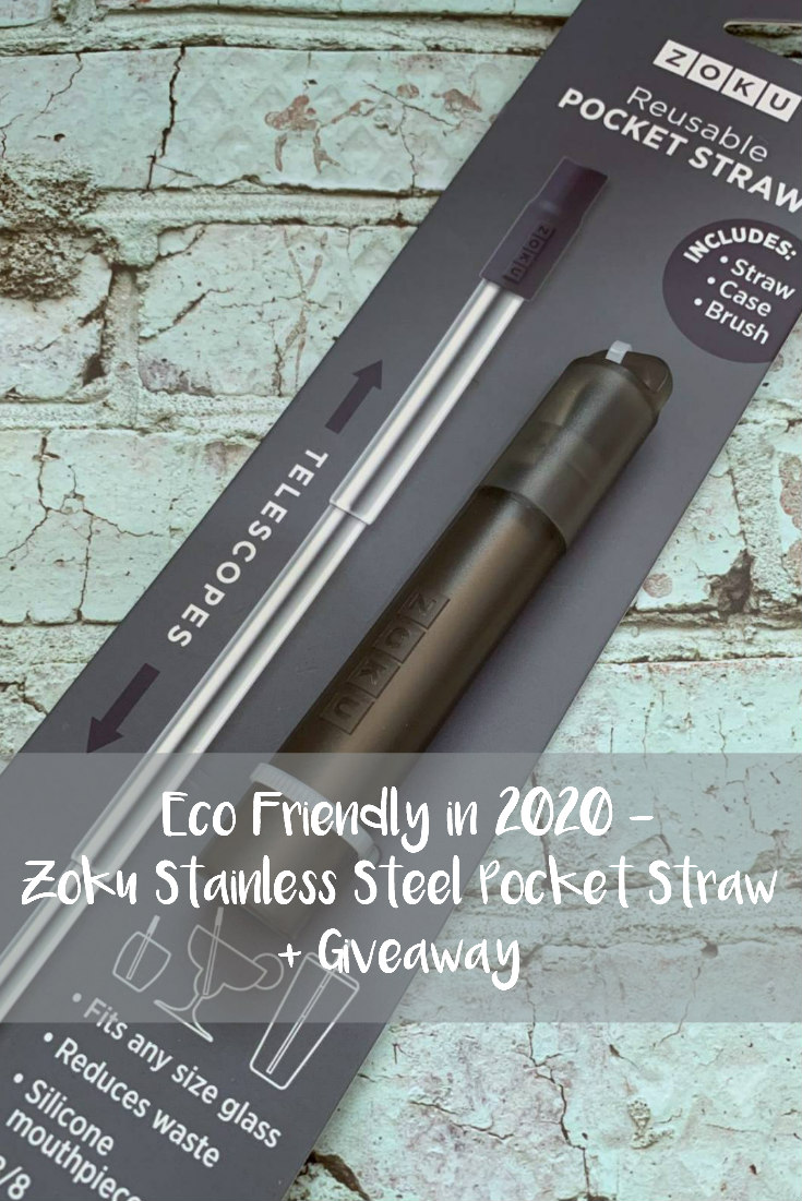 Eco Friendly in 2020 - Zoku Stainless Steel Pocket Straw + Giveaway