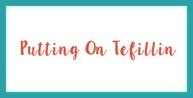 Putting On Tefillin