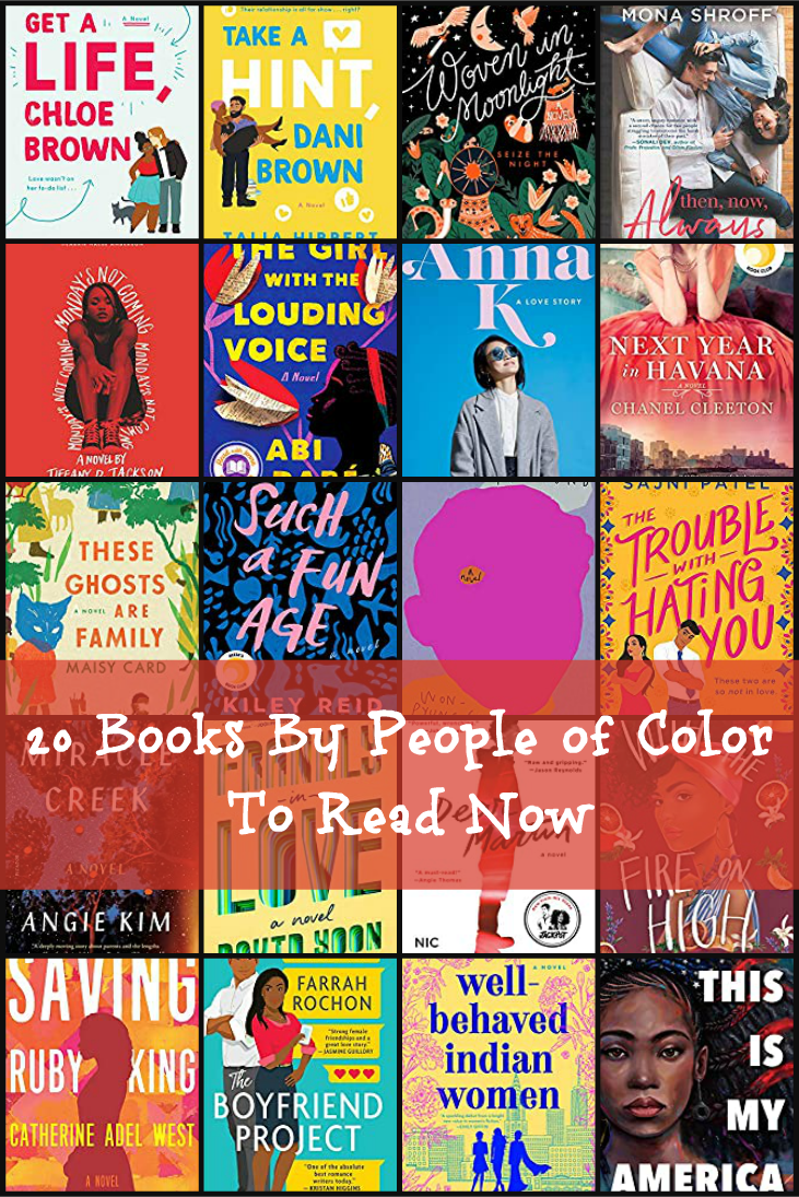 20 Books By People of Color To Read Now