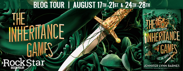 The Inheritance Games Blog Tour Review and Giveaway