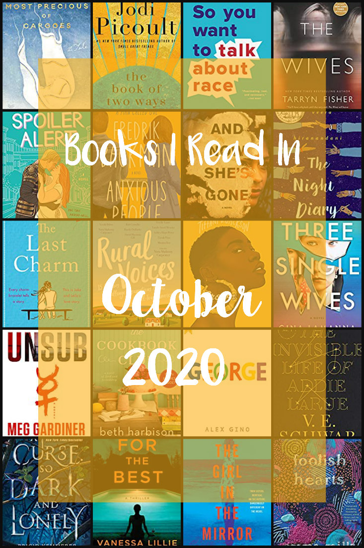 Books I Read in October 2020