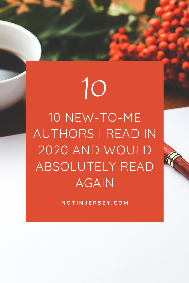 10 new to me authors