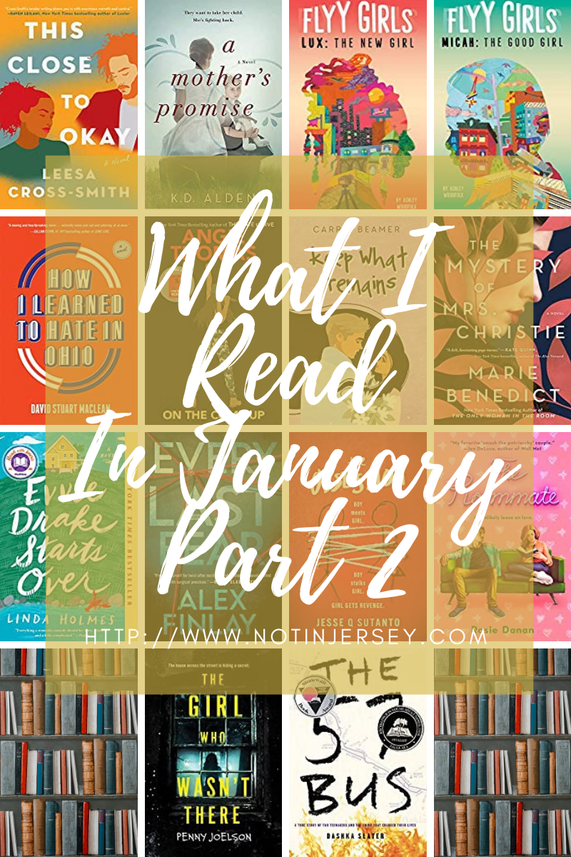 What I Read In January Part 2