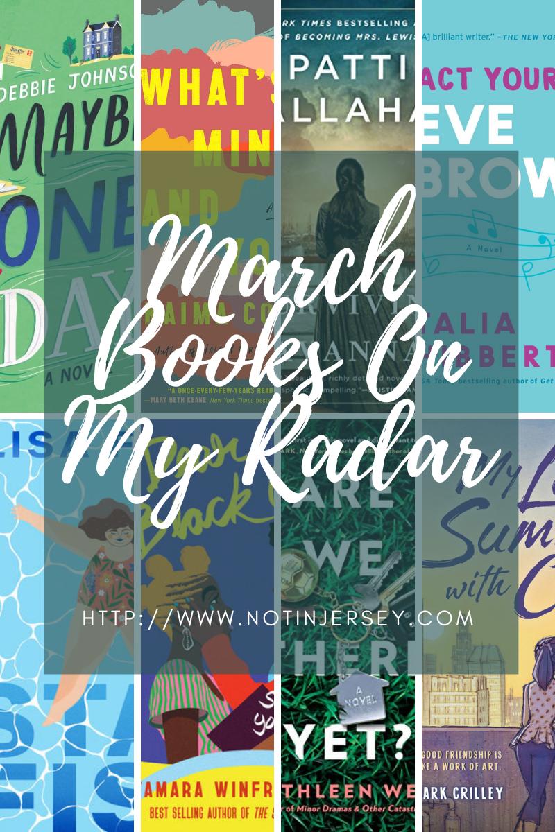 March Books On My Radar
