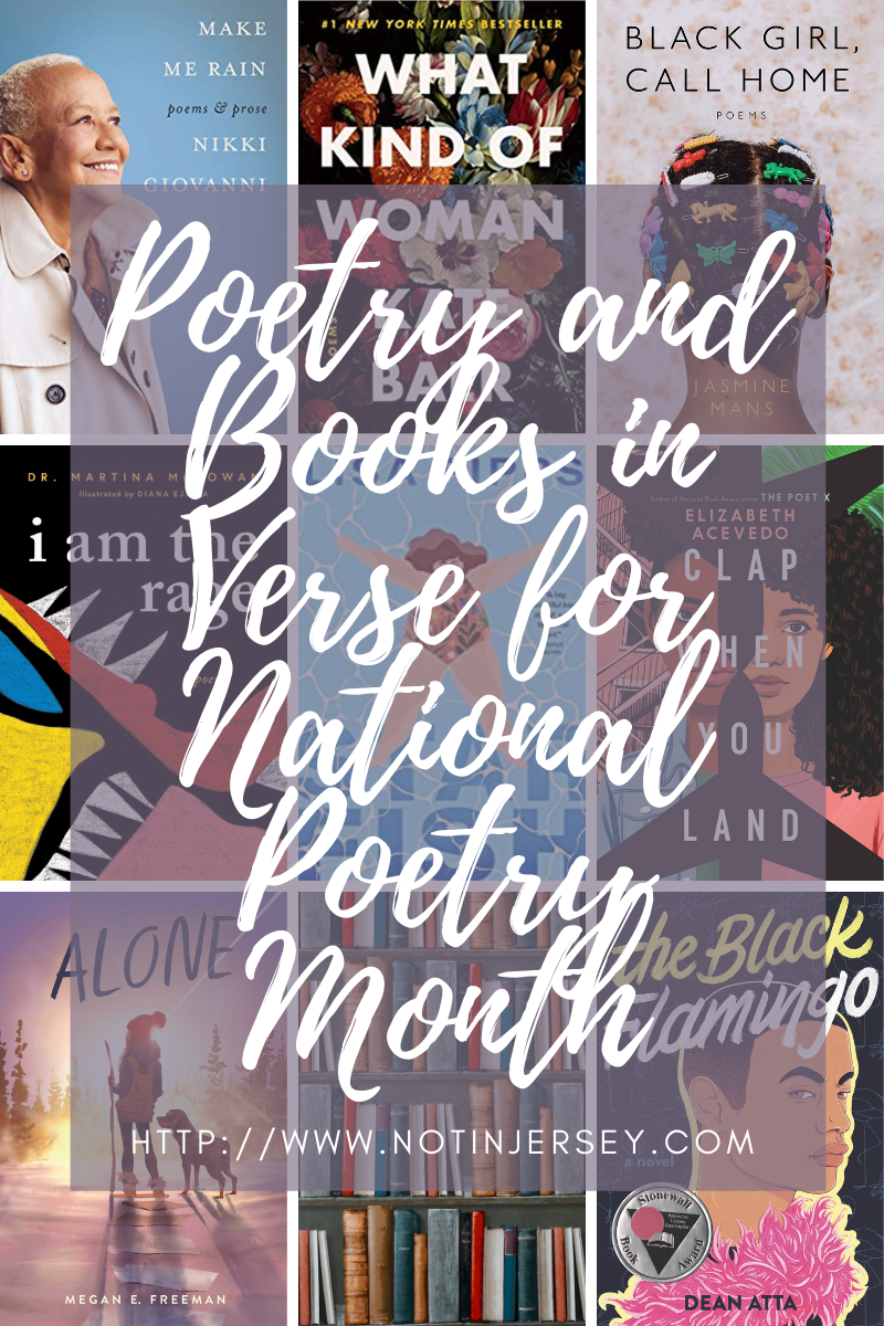 Poetry and Books in Verse for National Poetry Month