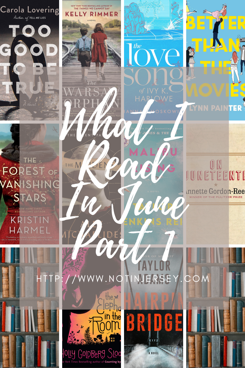 What I Read in June 2021 Part 1
