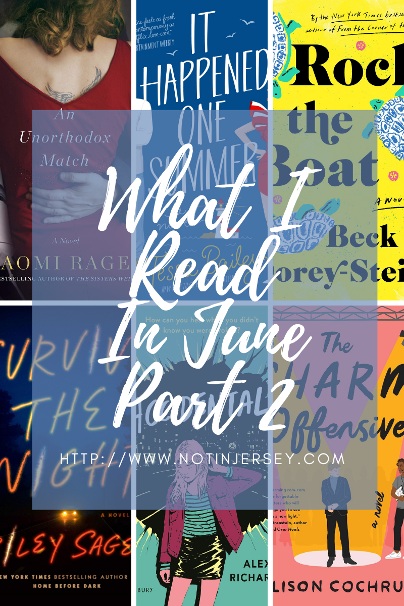 What I Read in June 2021 Part 2