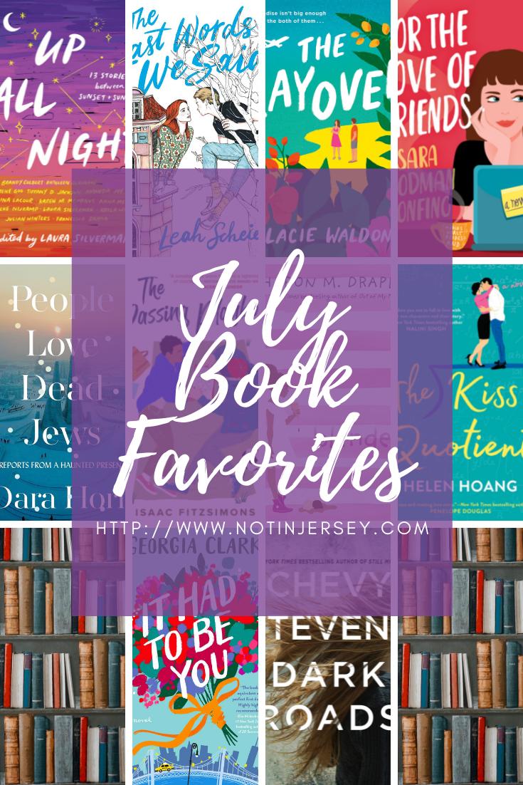 July Book Favorites