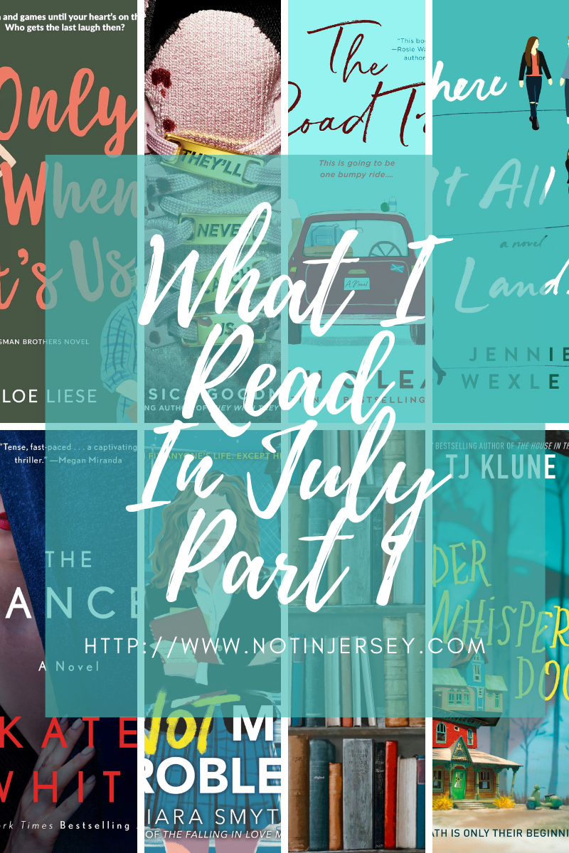 What I Read in July 2021 Part 1