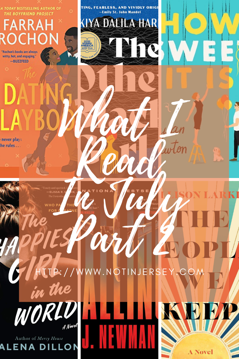 What I Read in July 2021 Part 2
