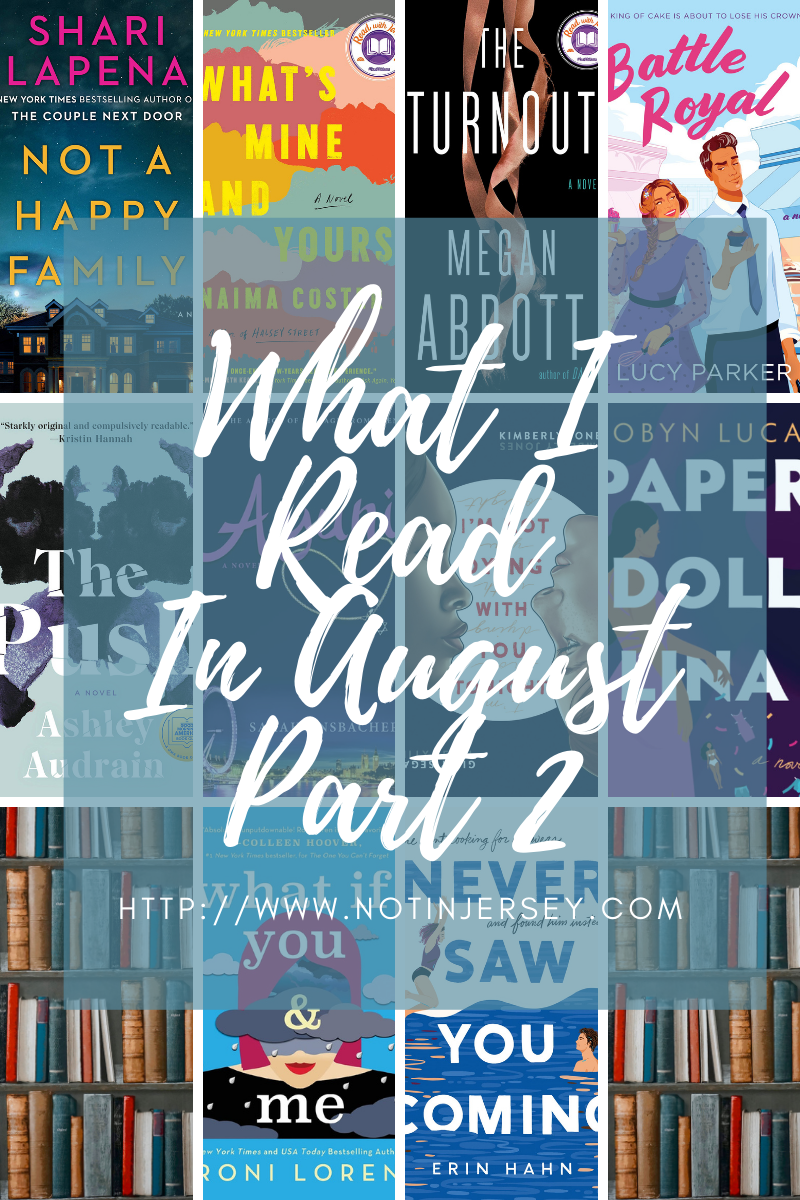 What I Read In August 2021 Part 2