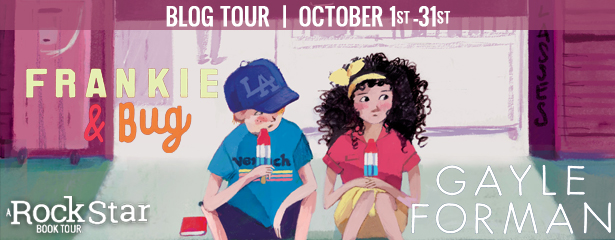 Frankie & Bug Blog Tour Review and Giveaway